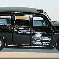 Austin FX4 London Taxi Matchbox B 04