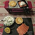 Raclette saumon cottage cheese
