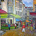 16 - Rue Mouffetard - Paris