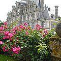 Chateau de beaumesnil (normandie)