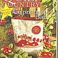 * Magazine Quilt Country n°25