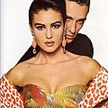1991, <b>Monica</b> <b>Bellucci</b> pour Valentino