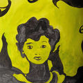 portrait jaune mathilde