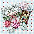 vanillejolie deco crochet fleurs