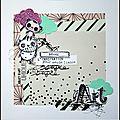Une page de nono et une carte de seve