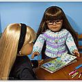 Les <b>poupées</b> font du scrapbooking - Dolls make scrapbooking