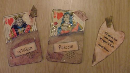 Pascale et William , Tryptique, Déc 2005