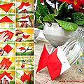 ¨°o.O Bocal Poisson d'Avril Origami / <b>April</b> Origami <b>Fool</b> Fish Jar O.o°¨