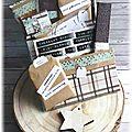 L.e. et emballages gourmands pour cs&diy#6 et cds defi#6 de l'anniversaire