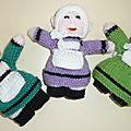 Voici quelques unes des dernières poupées
