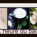 ♥♥-♥♥Sels de bain au <b>jasmin</b>♥♥-♥♥