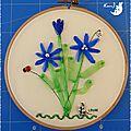 Tambour bouquet fleurs Michelle 1