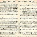 Produit CPA - PARTITION <b>Musicale</b> & chanson - Fleur D' ajonc - EUR 5,00 | PicClick FR