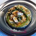 • blanquette de poulet aux asperges (régime) •