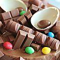 Kinder cake pour les 9 ans de mon chocolat addict.