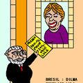 Brésil : dilma remplace lula . .