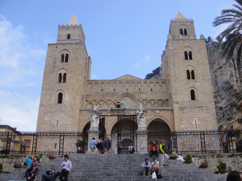 Cefalu - La cathédrale normande