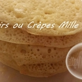 Baghrir ou crèpes mille trous ( au thermomix )