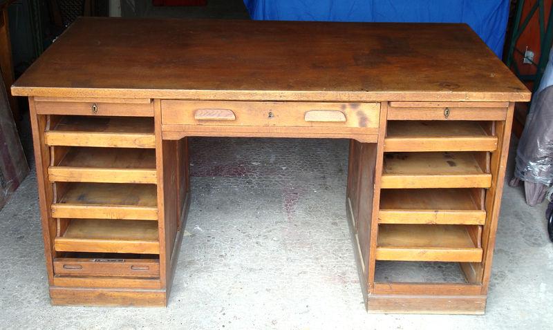 ancien bureau amricain 1950 meuble de mtier