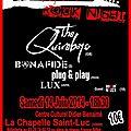 La chapelle 70's rock night 2014