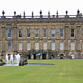 Chatsworth house - derbyshire - royaume-uni
