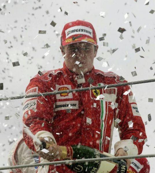 Raikkonen Champion du Monde de F1 2007