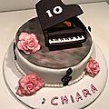 gâteau Piano