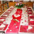 Jolie table...