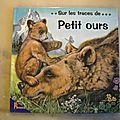 Sur les traces de petit ours, éditions Hemma