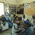 Remise des cartes pour la prise en charge sanitaire aux déplacés du nord du mali , le 28-11-2012 à bamako
