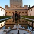 En ANDALOUSIE/Espagne 14: GRENADE - L'Alhambra/intérieur