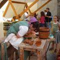 Ameline la potière du moyen âge à Istres