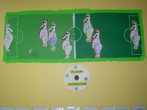 Loups footballeurs (Béa)