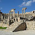 <b>Dougga</b> la romaine tunisienne