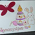 08. blanc, rose, jaune et violet - lapin peintre