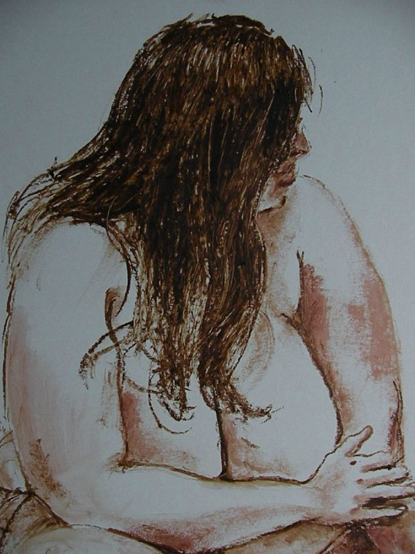 Daphnee la peinture de nus féminins