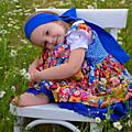 Robe pour la fille matreshki
