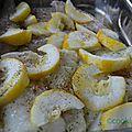 Cabillaud pré-cuit au sel et auxherbes