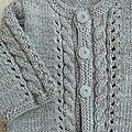 Cardigan bébé...au tricot!