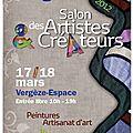 Salon des artistes créateurs