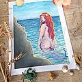 La légende bretonne des Marie-Morgane - illustration