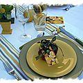 table citronnée 010