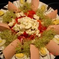 Salade colorée vite faite