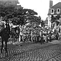 Caen, Festivités du Retour des Poilus le 14 septembre 1919, Rassemblement des troupes