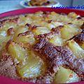 Gâteau fêtes des mères ananas/rhum sans gluten