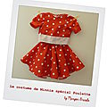 Costume de minnie