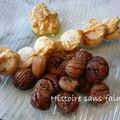 St Jacques, boudin blanc truffé et marrons à l'orange