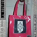 Sac Cabas Mini - Toile cirée, logo CB