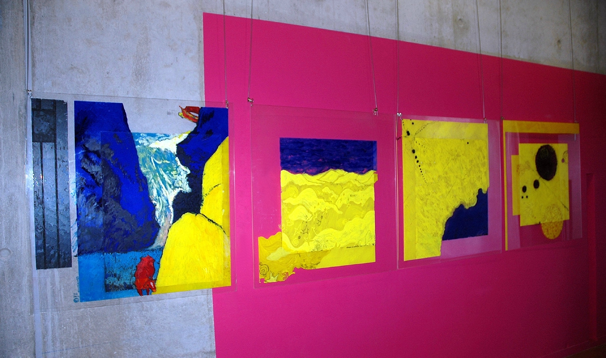 L'invisible rendu visible: Abstractions jaunes