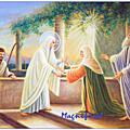 Méditation du Magnificat: Le Cantique d'<b>action</b> de <b>grâce</b> de Marie